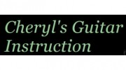 Cheryl's Guitar Instruction