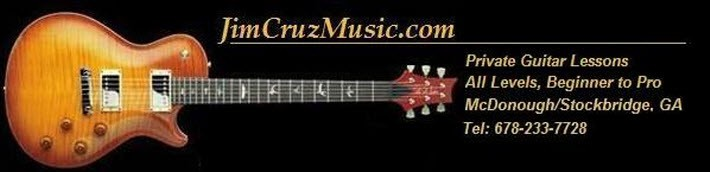 Guitar Lessons from Jimmy Cruz