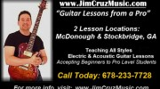 Guitar Lessons from a Pro Instuctor/Musician