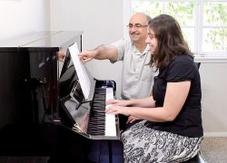 Piano Lesson with Brissa