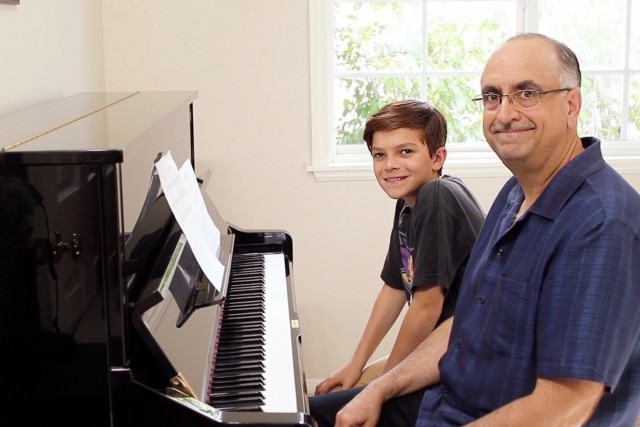 Piano Lesson with Hayden