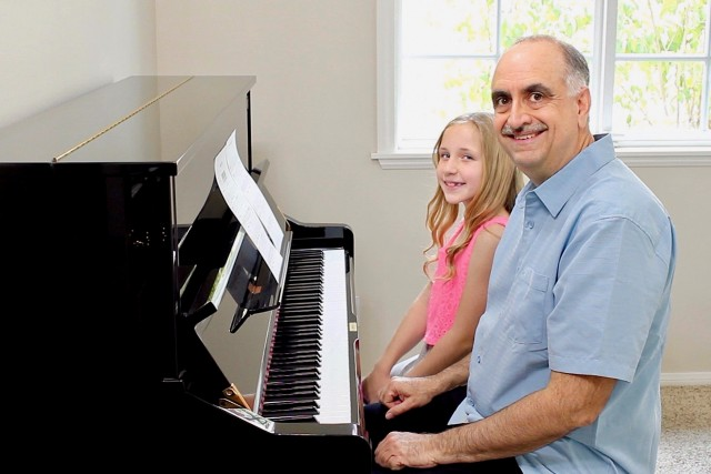 Piano Lesson with Isabella