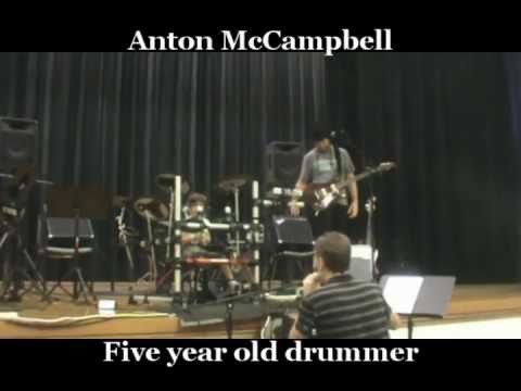 Anton McCampbell - plays two new songs