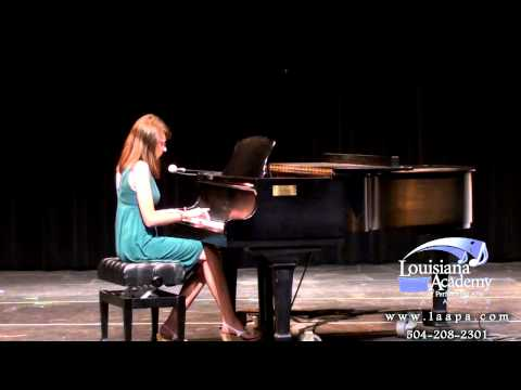 Metairie LA Piano Lessons at LAAPA | Elizabeth performs