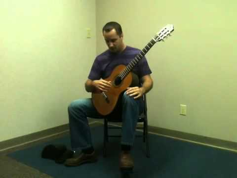 Classical Guitar Seating Position