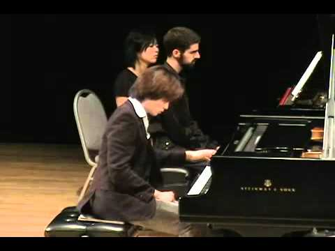 Cameron Tong plays Ravel's Left Hand Concerto