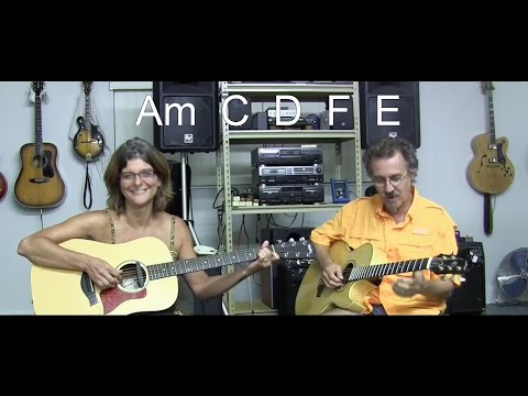 The House of the Rising Sun Acoustic Duo Cover with Lead Guitar