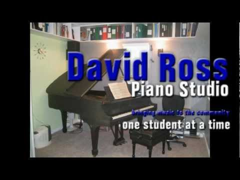 David Ross Piano Studio Tour