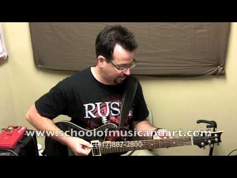 Justin Ward major scale study