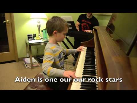 Aiden Marlowe, Piano Kid